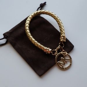 Bracelet  leather gold Michael Kors